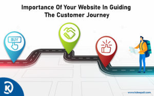Importance of your website in guiding the customer journey